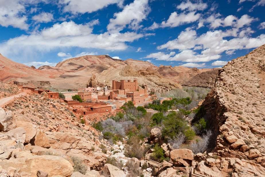 Kasbah in Dades Valley, Maroc