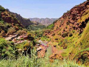 Trip Ouzoud Marrakech Morocc