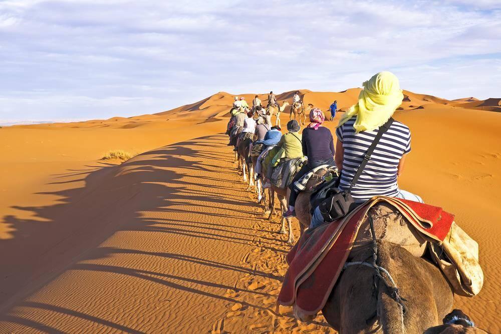 Marokko Kameel trektochten Merzouga