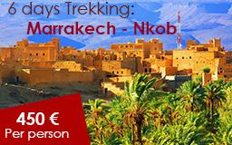 6 days trekking marrakech to nkob