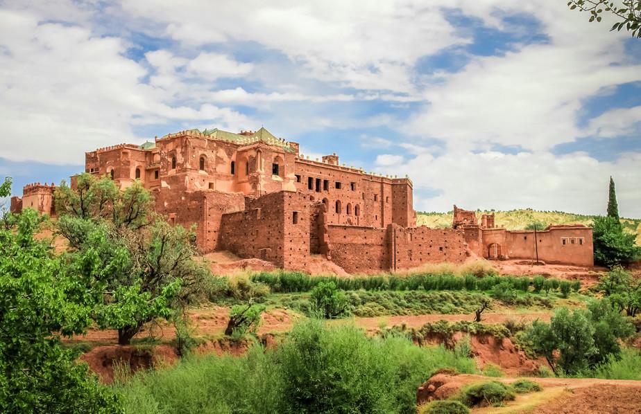 Old Telouet kasbah, Morocco